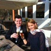 Nadja Biesenbach und Christian Tölg arbeiten jetzt als Team